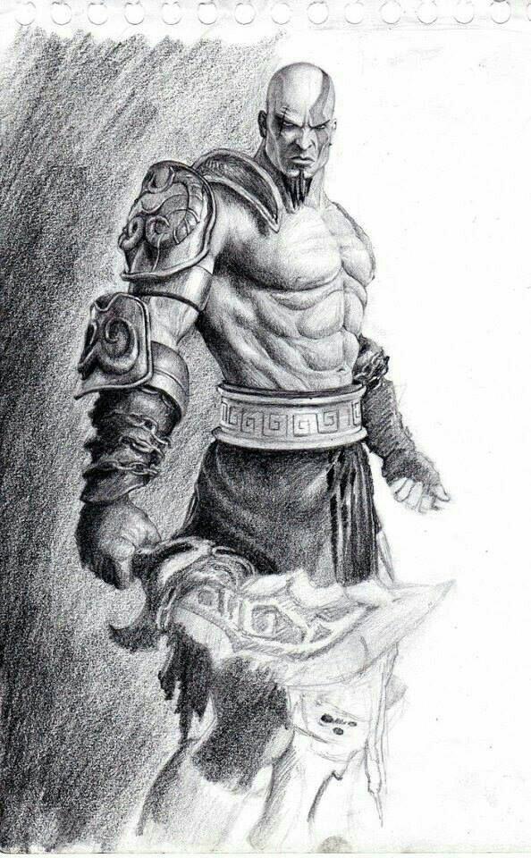 Dibujos Kratos Desenho Tatuagem De Caminhao Desenhos De Anime