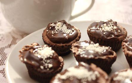 Dieta Dukana :: Babeczki w czekoladzie :: Przepisy Zasady Efekty