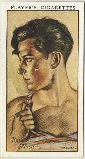 Ramon Novarro ~ 1934 John Player & Sons Film Stars Tobacco Card, Series 1, #43 on Immortal Ephemera...