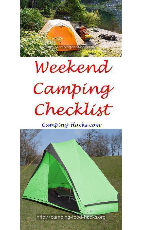 Easy Camping Hacks Space Saving