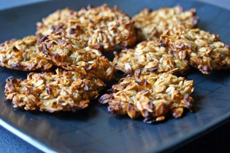 Feel Eat!: Ciasteczka owsiane z jabłkiem (bez mąki i dodatku ...