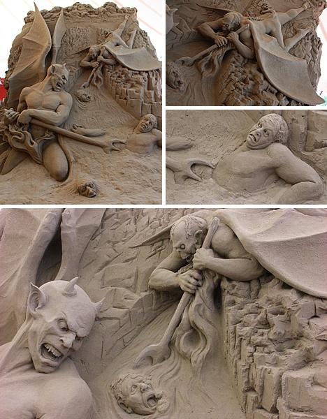 Sand Demons of Dante's Inferno