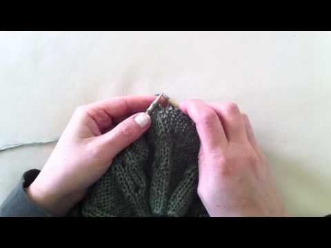 Aumento sollevato a rovescio - Make one purl - YouTube