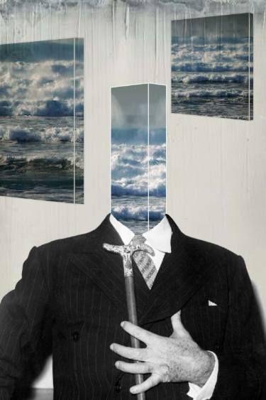 """Saatchi Art Artist du Varret; Collage, """"I"""" #art"""