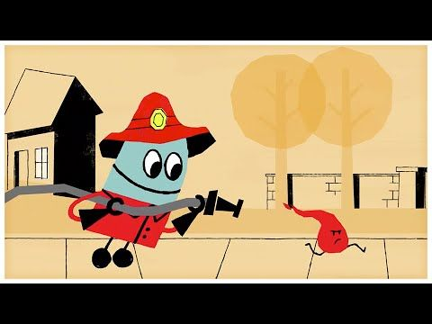 """""""Firefighter,"""" Songs about Professions by StoryBots - YouTube"""