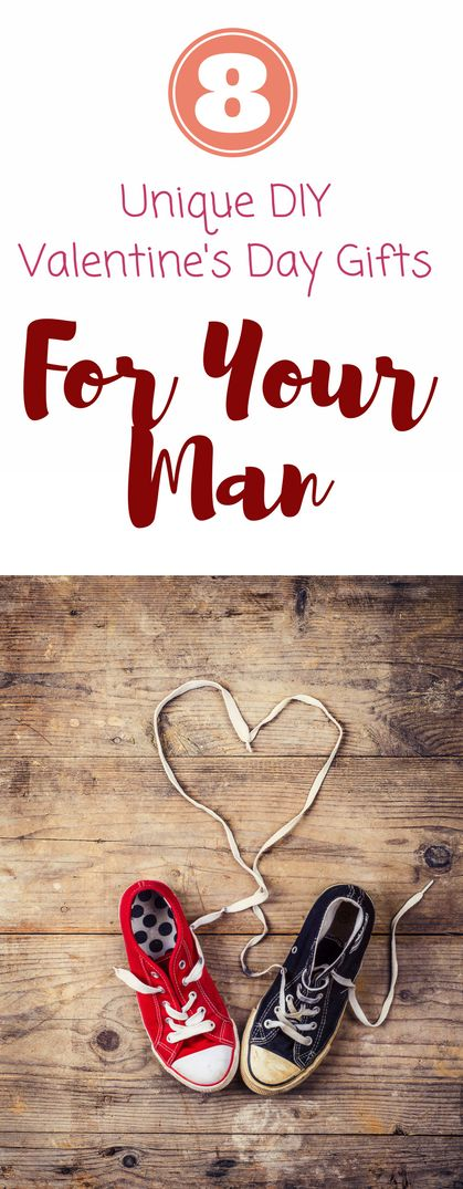 Amazing valentine's gifts for him! Love these ideas for craft and DIY to impress your boyfriend, fiance, or husband!