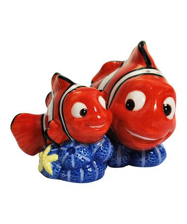 This Westland Giftware Marlin & Nemo Salt & Pepper Shaker Set by Westland Giftware is perfect! #zulilyfinds