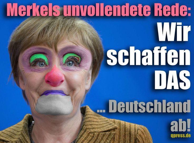 ❌❌❌ Wollen wir die Kanzlerin ernst nehmen oder nicht? Wenn wir Merkel ernst nehmen, können wir sie getrost für die nächste Legislaturperiode 2017 ausbuchen, dann dürfte sie als Kanzlerkandidatin nicht mehr infrage kommen. Es gibt valide Anhaltspunkte dahingehend, dass die Schwesterpartei CSU hier massiv mitgewirkt, um Angela Merkel so weit ins Abseits zu stellen, dass sie in Deutschland nicht mehr so hinderlich ist, wie das in den letzten Jahren der Fall war. ❌❌❌ #KFrage #Merkel #CDU #CSU
