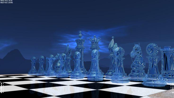 Glass Chess Set d Model dsmax by metonymic on DeviantArt