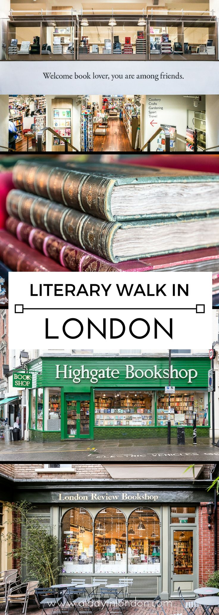 Self-Guided London Literary Walk and Map – Discover the City's Top Spots