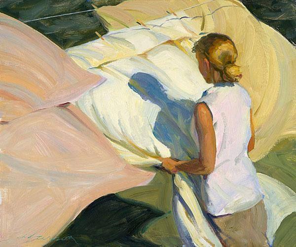 Jeffri Larsson, The light of the wind, 2005