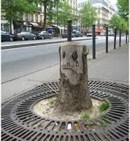 Billedresultat for streetart trees