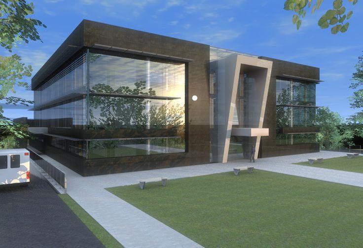 Best 25 fachadas de edificios modernos ideas on pinterest for Fachadas edificios modernos