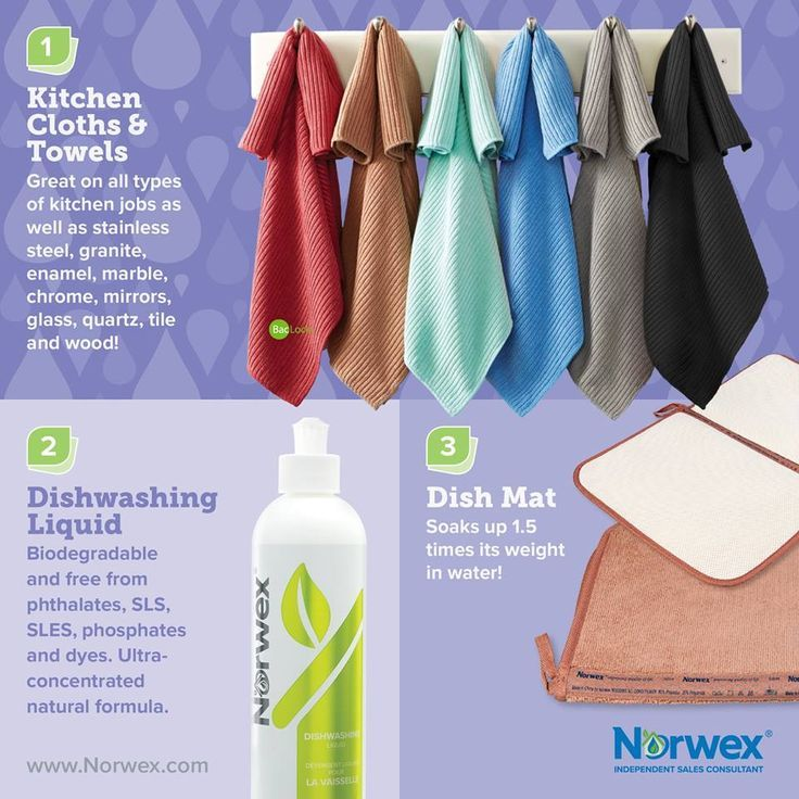Smelly Cloths And Towels In The Kitchen