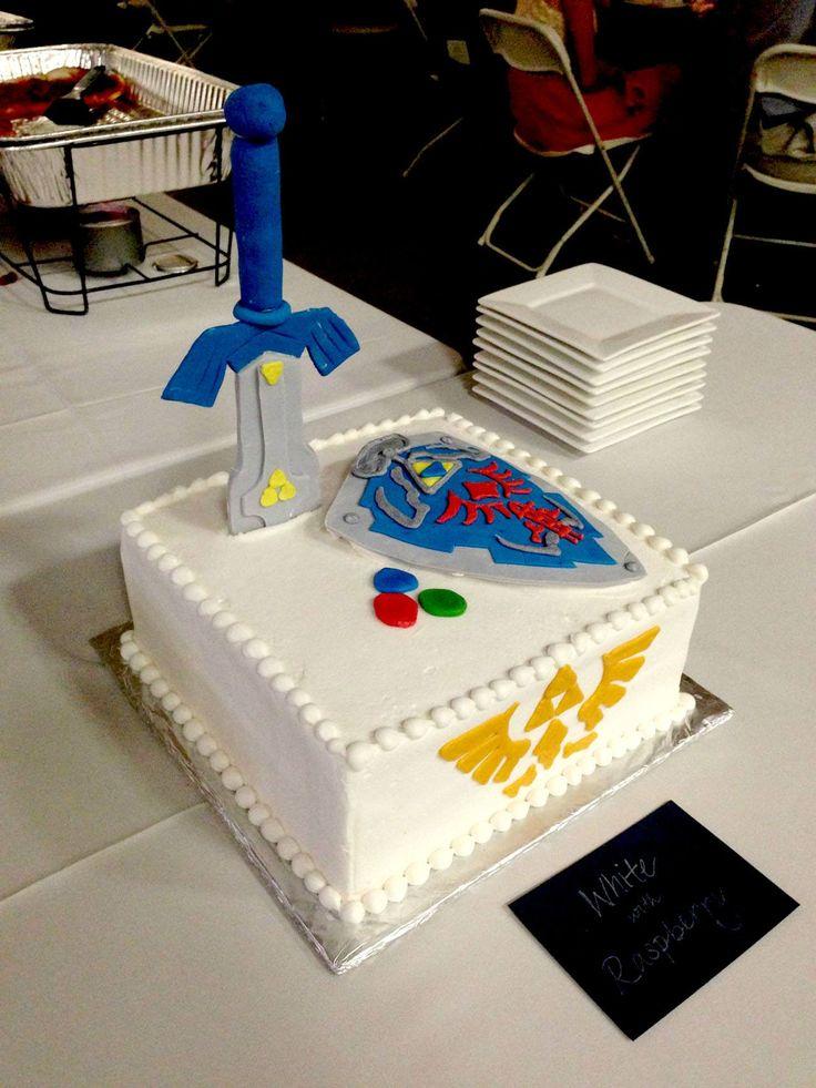 A new Zelda cake for Djoko's birthday