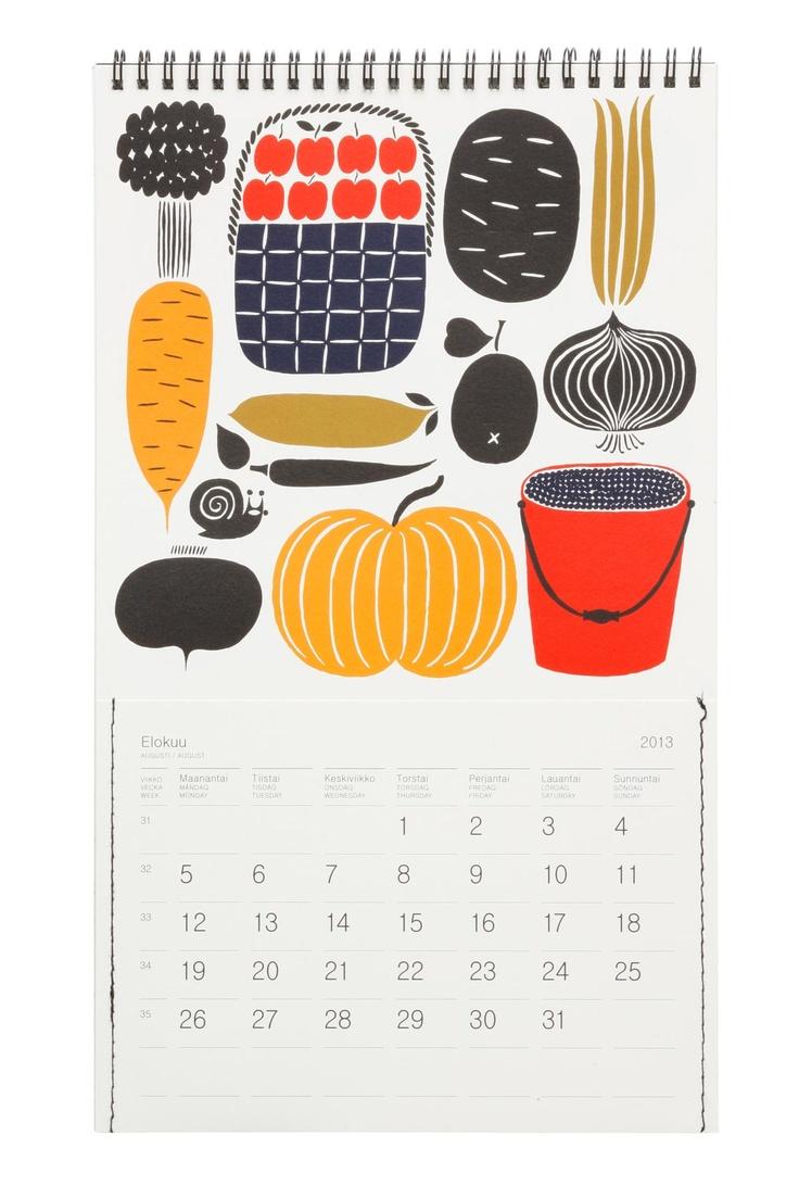 Wall Calendar from Marimekko