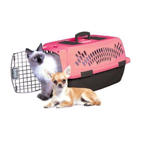New-Pet-Carrier-Dog-Cat-Kitty-Puppy-Travel-Pet-Taxi-Pink-X-Small