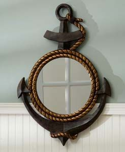 Captivating Anchor Mirror For The Guest Bathroom?