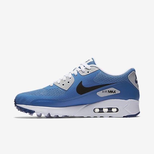 check out 20c9b 6f423 Nike Air Max 90 Ultra Essential Mens Star Blue Coastal Blue Pure Platinum Black  Sale UK