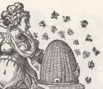 Allegory of Industry, Jost Amman, wood engraving, 1578 L'Allégorie de l'assiduité, Jost Amman, gravure sur bois, 1578