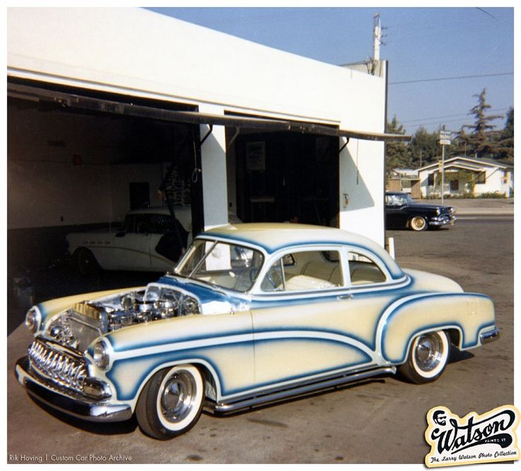 Bill Haddad's 1951 Chevy. This Front 3/4 Photo Shows A Bit