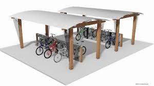 Bicycle shelters come in various forms, colors, sizes and materials. You need to choose the type which will exactly meet your entire requirements. http://velodomeshelters.com