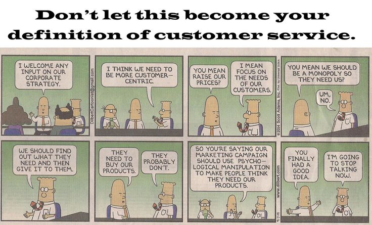 Don't let this become your definition of customer service www.highhopescommunications.ca