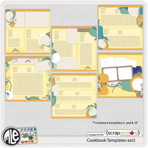 Best Cookbook Images On   Cookbook Template Cookbook
