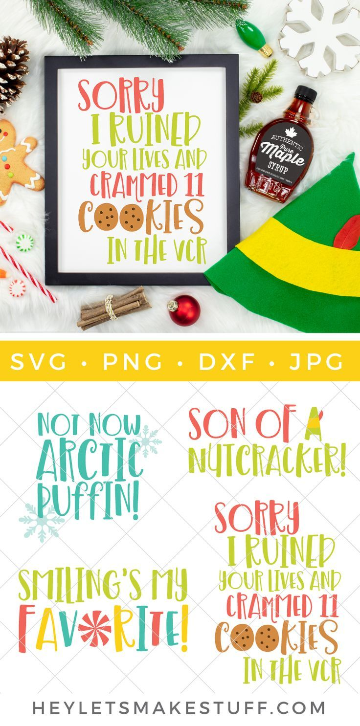 Buddy the Elf SVG Bundle Christmas svg, Christmas crafts