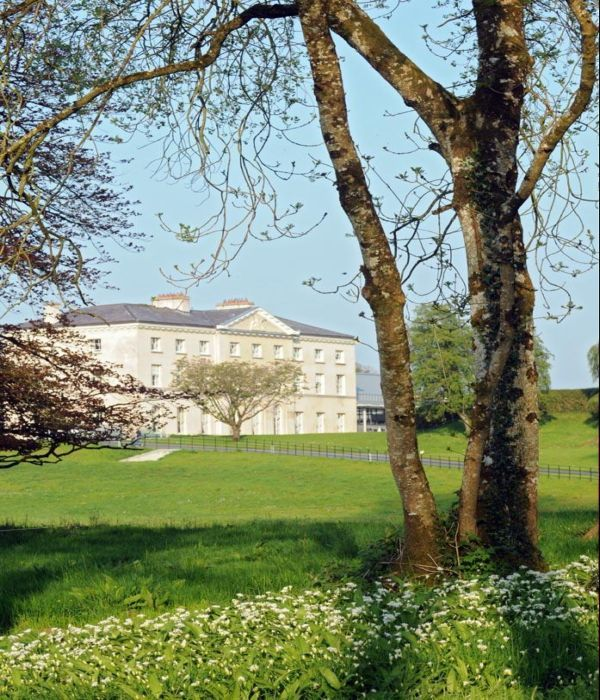 A stunning view of Farnham House Cavan which dates back to the 16th century.