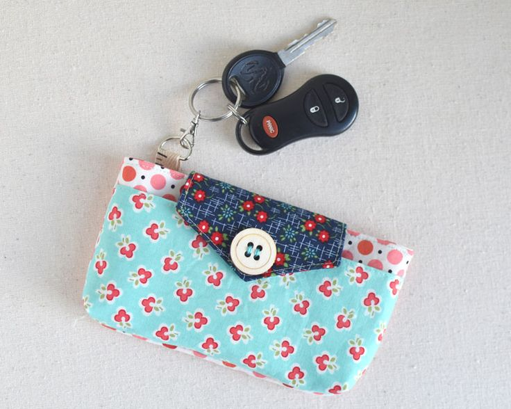 """The saying """"necessity is the mother of invention"""" is the truth. I don't have an iPhone…and so, all the cute cases and phone wallets, etc, don't fit my phone. But, I am…"""