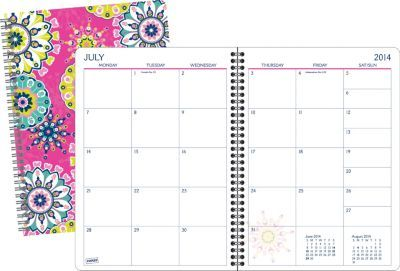 Staples®. has the Staples® Academic Poly Kaleidoscope/Flower Professional Monthly Planner, 8-1/8'' x 11'', English you need for home office or business. Shop our great selection, read product reviews and receive FREE delivery on all orders over $