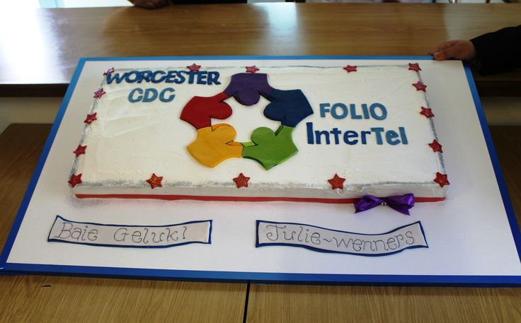 Special cake for the winner! Worcester, July 2015.