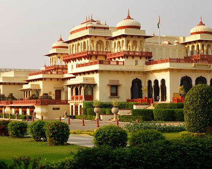 The most wonderful hotel.   Rambagh Palace. Jaipur, India.: Jaipur India, Rambagh Palaces, Palaces Jaipur, Palaces Hotels, Incr India, Travel, Royals Families, Royals Palaces, Luxury Hotels