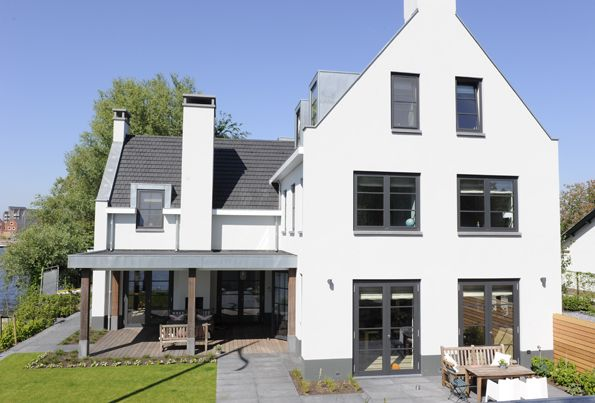Villa Rhijnhofweg Oegstgeest   Architectenbureau Van ManenArchitectenbureau Van Manen