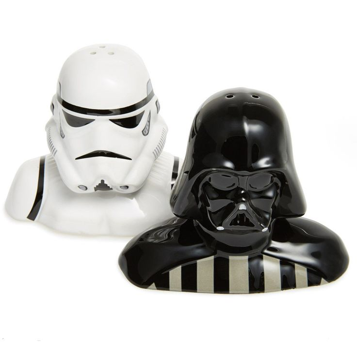 223 best science fiction awesomeness images on pinterest - Darth vader and stormtrooper salt and pepper shakers ...