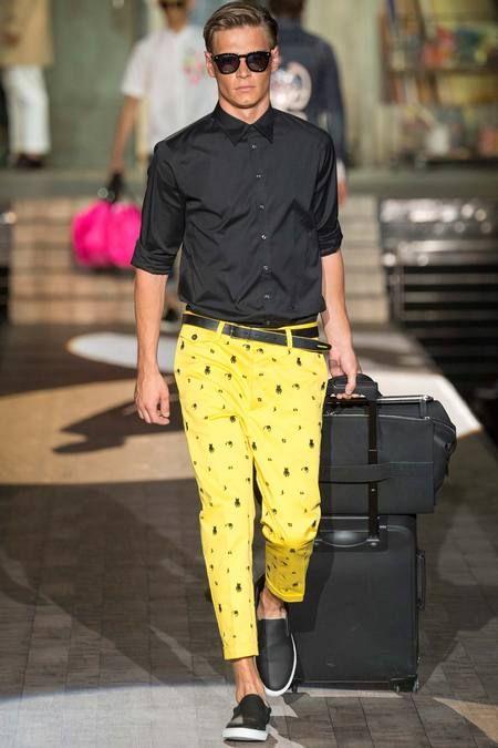 Dsquared2 Spring 2015 Milan Fashion Week Menswear