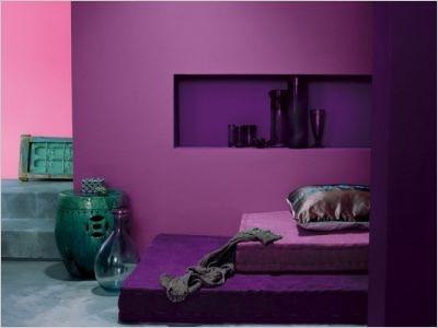 les 25 meilleures ides de la catgorie couleurs de peinture violet sur pinterest peinture lavande palette violette et murs violets - Les Couleurs Qui Vont Avec Le Violet