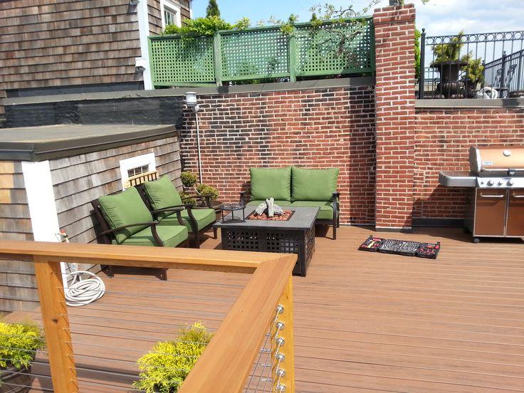 roof deck furniture. bunker hill roof deck furniture