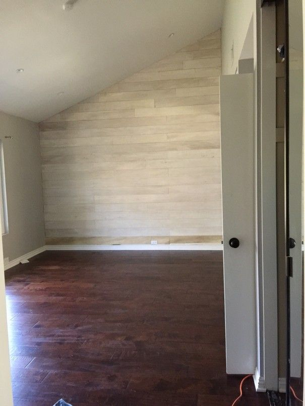 pallet wood wall whitewash. how to make a white washed wood plank accent wall (little miss momma) pallet whitewash