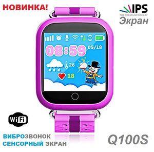 Детские часы-телефон с gps Q100S (Розовые) — Smart Baby Watch Одна из новых моделей детских умных часов от фабрики Smart Baby Watch рассчитанадля деток от 5до 14 лет. Данная модель часов имеет большой высококачественный IPS экран которым очень легко управлять. Данная модель выглядит очень стильно и прекрасно смотрится на руке. Smart Baby WatchQ100Sхарактеристики: Комплектация: часы, …