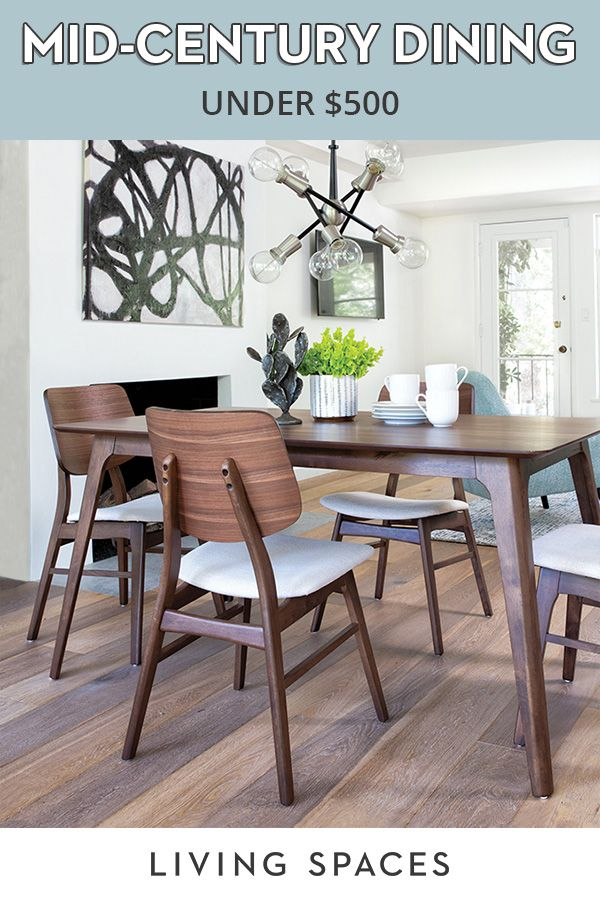 Modern Dining Sets With Mid Century Flair Mid Century Modern