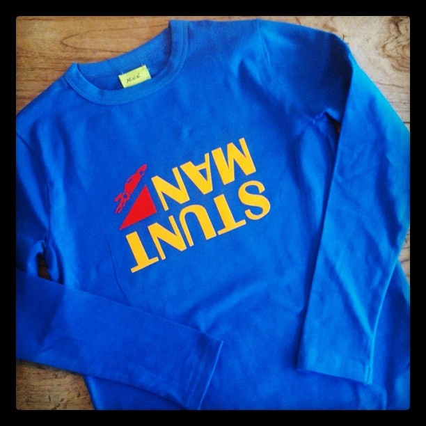 T-shirt voor kleine stuntman