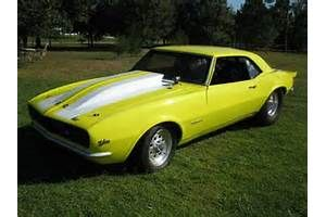 1968 Pro Street Camaro Arrastre Coche Para La Venta En FL $ 15000 Http 564x423