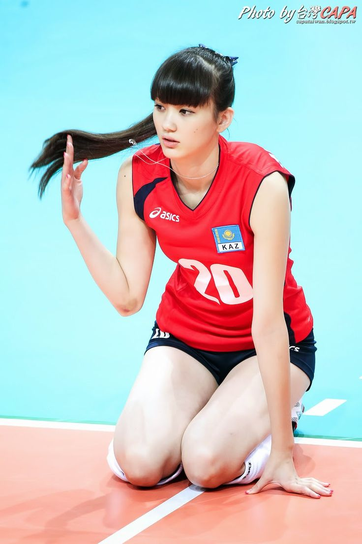 """Kazakhstan volleyball player Sabina Altynbekova generated considerable buzz last year after her good looks drew media attention at the Asian Junior Women's Volleyball Championship.Photos of the attractive athlete were shared widely over the Internet, leading to her being dubbed """"the most beautiful volleyball player in the world"""".Now, the19-year-old is back in the news after it was announced that she has joined Japanese professional team GSS Sunbeams."""