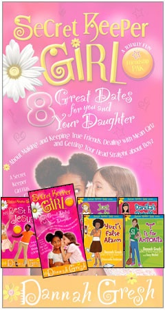 Secret Keeper Girl Friendship - study and fictional series for tween girls and their moms