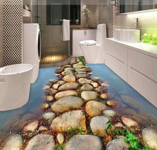 وداعا للسيراميك ارضيات ب ثلاثي الابعاد 3d ارضيات الابعاد ثلاثي للسيراميك وداعا 3d Bathroom Design Floor Design Epoxy Floor