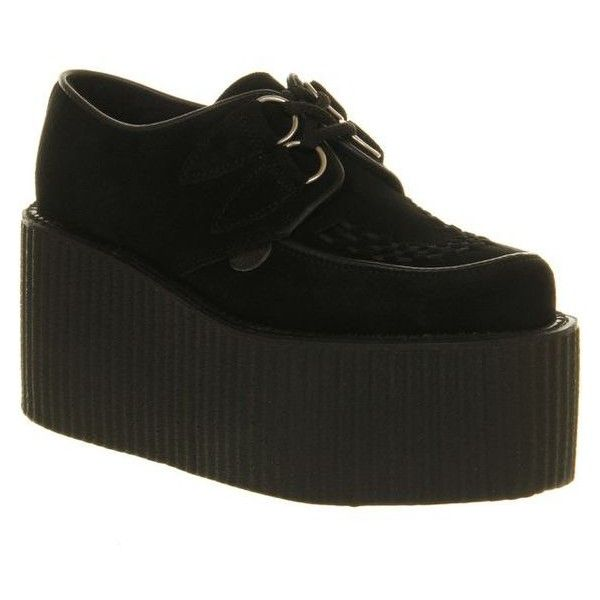 Underground Triple Sole Creeper ❤ liked on Polyvore featuring shoes and creeper shoes