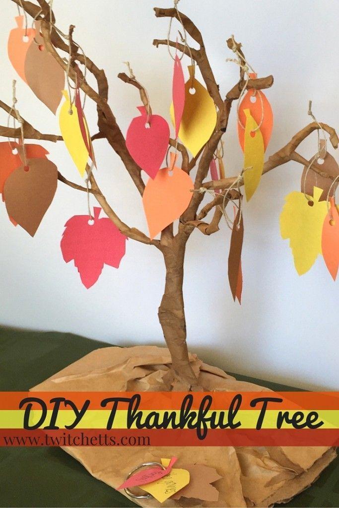 7425 best best of thanksgiving kindergarten first for Thankful tree craft for kids