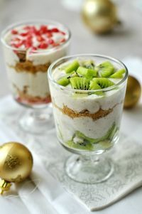 10 perces (egészséges) (karácsonyi) desszert #yoghurt #honey #oatcookies